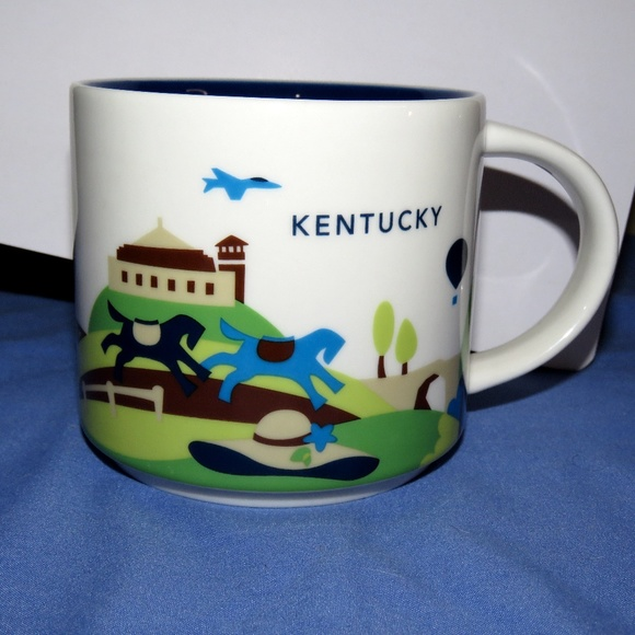 Starbucks 2014 You Are Here Collection Kentucky